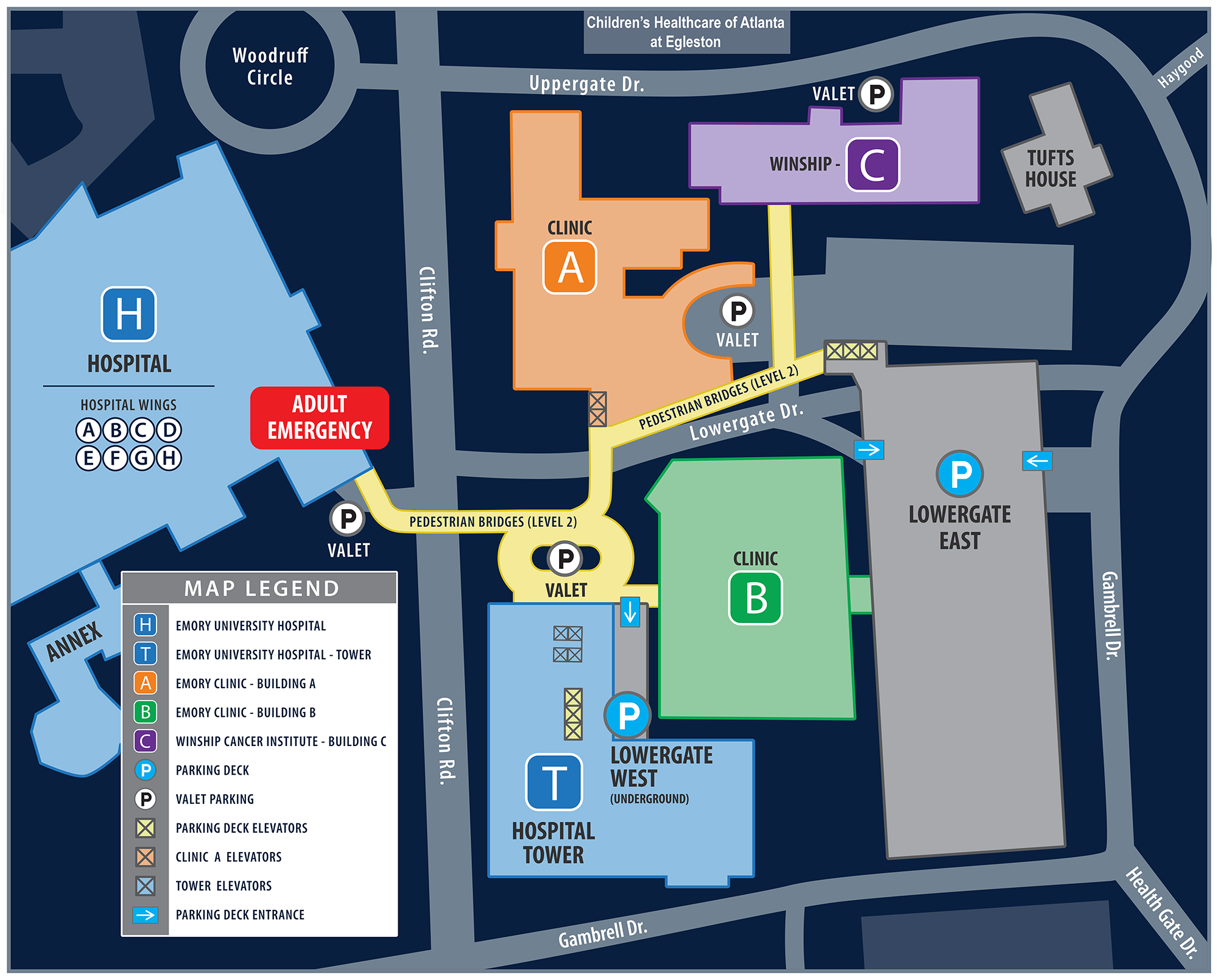 Morningside College Campus Map.Directions Maps Parking