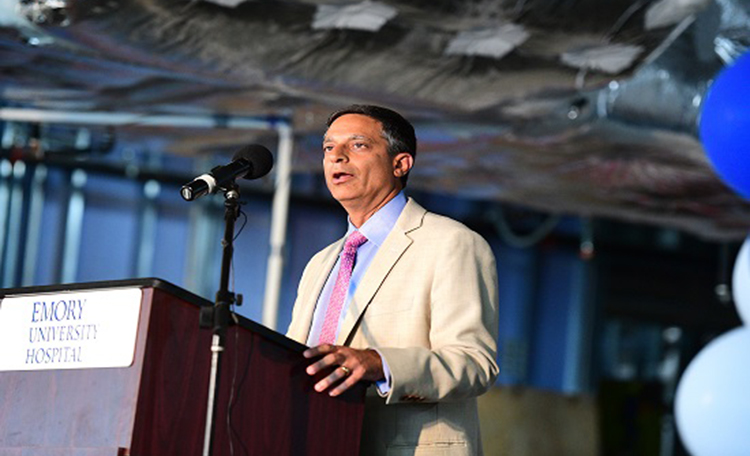 Dr. Sagar Lonial, chair of the Department of Hematology and Medical Oncology, Emory University School of Medicine and Winship Cancer Institute